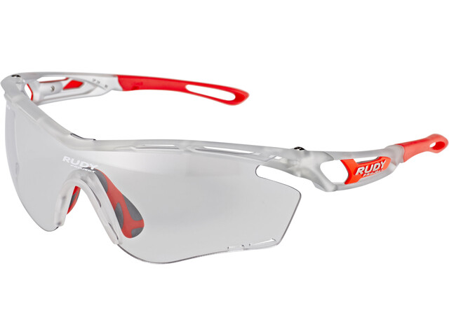 Rudy Project Tralyx - Lunettes cyclisme - rouge/argent